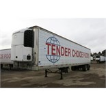 TRAILMOBILE, 53' REFRIGERATED VAN TRAILER, BARN DOORS, THERMO KING, SB-210, REEFER, 19,760 HOURS,