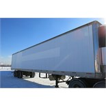 TRAILMOBILE, 53' REFRIGERATED VAN TRAILER, BARN DOORS, THERMO KING, SB-210, REEFER, 14,880 HOURS