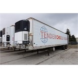 TRAILMOBILE, 53', REFRIDGERATIED VAN TRAILER, BARN DOORS, CARRIER, PHOENIX ULTRA, REEFER, 1998