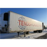 UTILITY, 3000R, 53' REFRIGERATED VAN TRAILER, BARN DOORS, THERMO KING, SB-210, REEFER, 26,734 HOURS,