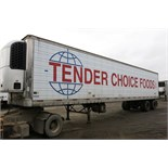 TRAILMOBILE, 53' REFRIGERATED VAN TRAILER, BARN DOORS, THERMO KING, SB-210, REEFER, 15,286 HOURS,