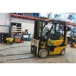 "YALE, GLC050VNXVSE083, 5,000 LBS., 3 STAGE, LPG FORKLIFT WITH SIDESHIFT, 189"" MAX LIFT, 13,173 HOURS"