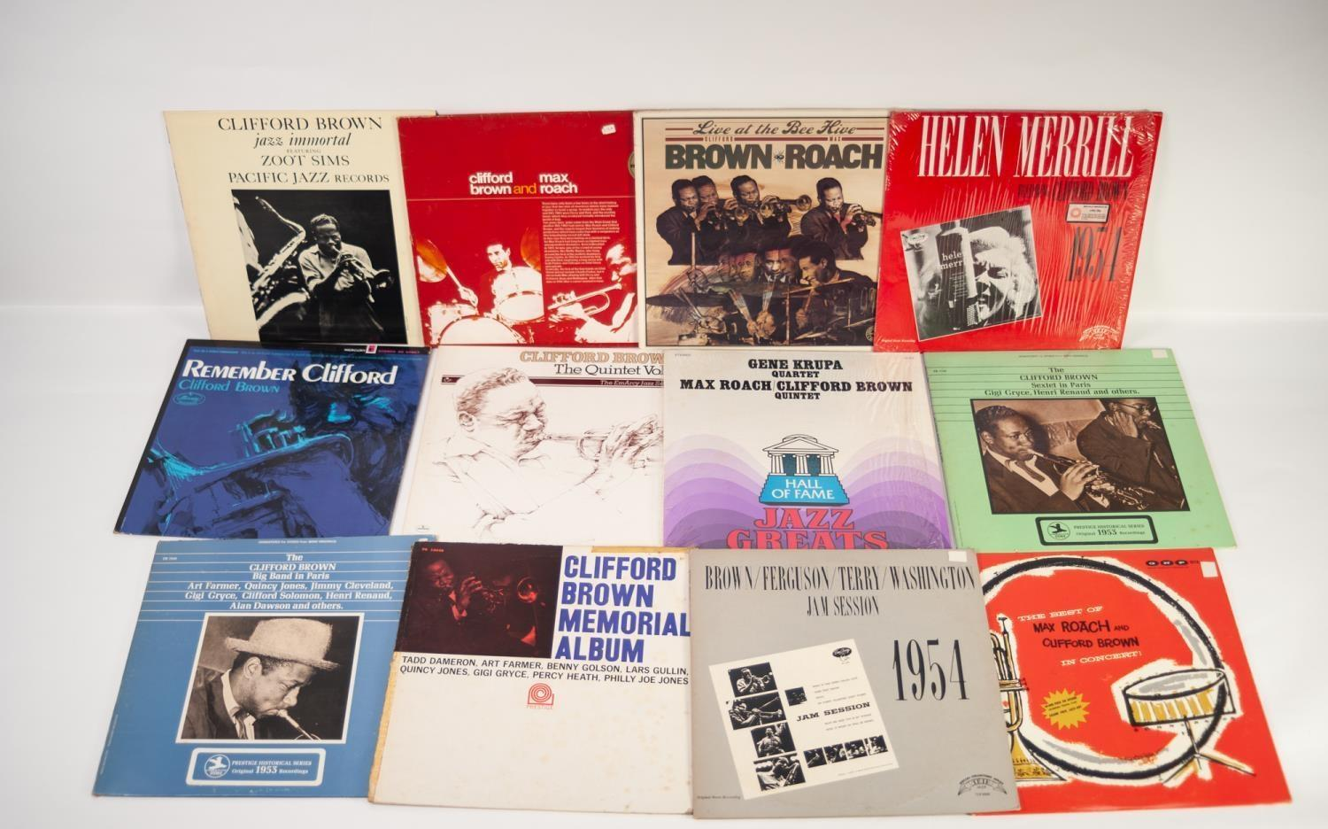 JAZZ, VINYL RECORDS- B IS FOR CLIFFORD BROWN & MAX ROACH-AT BASIN, EmArcy (MG 36070/EJL 1253), - Image 2 of 2