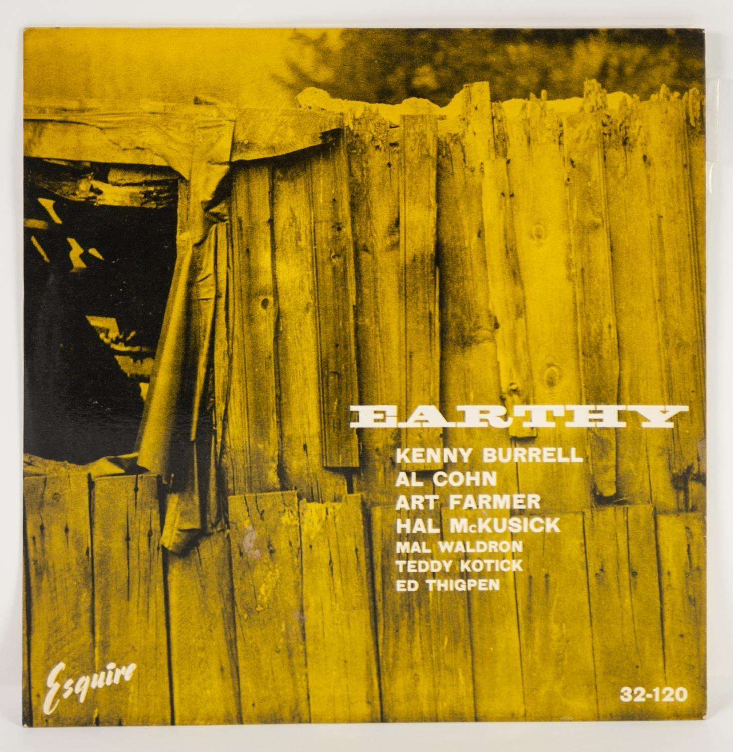 JAZZ, VINYL RECORDS- B IS FOR KENNY BURRELL-EARTHY (Prestige All Stars), Esquire (32-120).