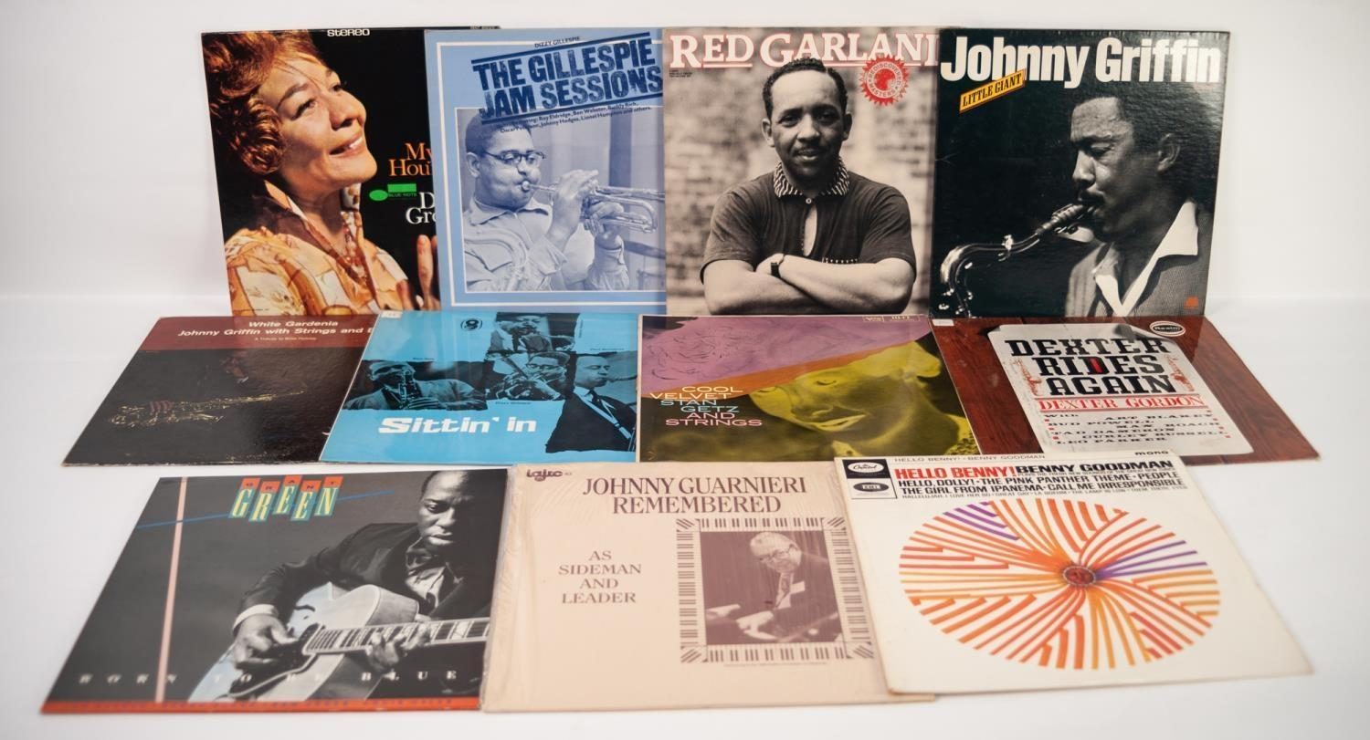 JAZZ, VINYL RECORDS-G IS FOR RED GARLAND-REDISCOVERED MASTERS, Prestige (P-24078). Dizzy Gillespie-