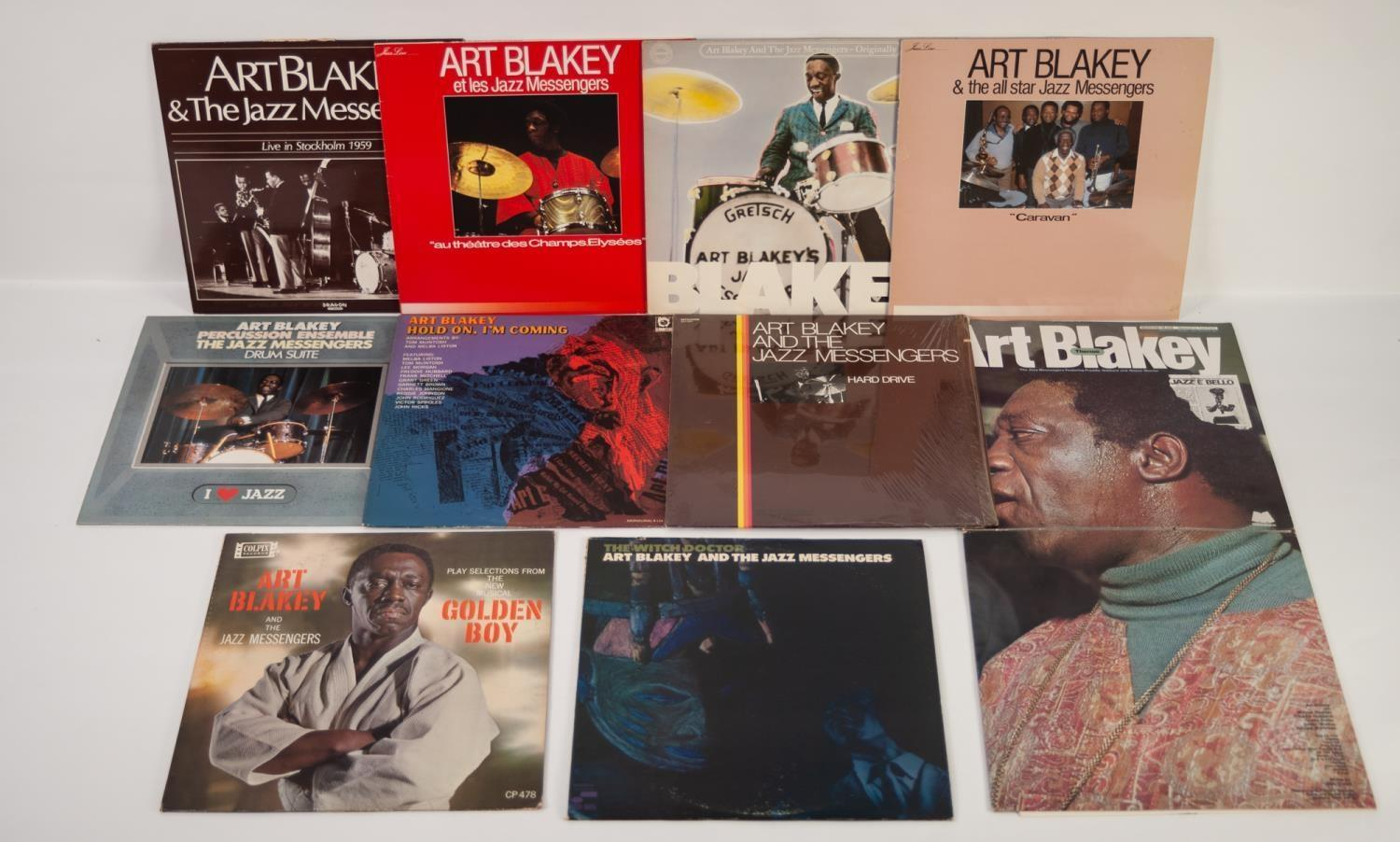 JAZZ, VINYL RECORDS- B IS FOR ART BLAKEY-THE WITCH DOCTOR, Blue Note (BST 84258). Art Blakey and the
