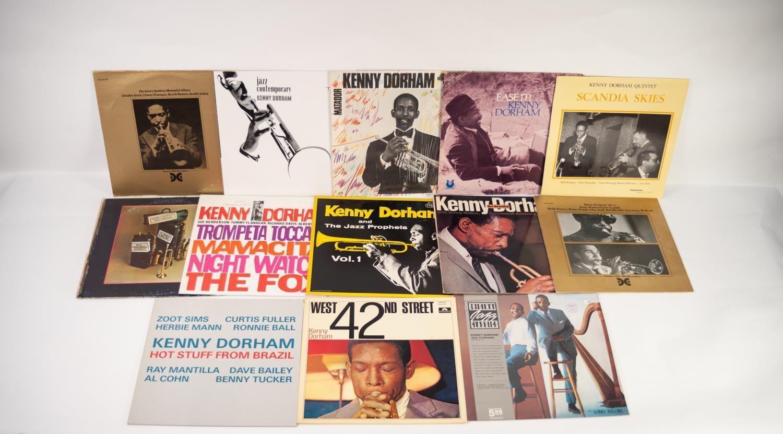 JAZZ, VINYL RECORDS- D IS FOR KENNY DORHAM-JAZZ PROPHETS, Vol 1, Probe (IPR 88033) Kenny Dorham-