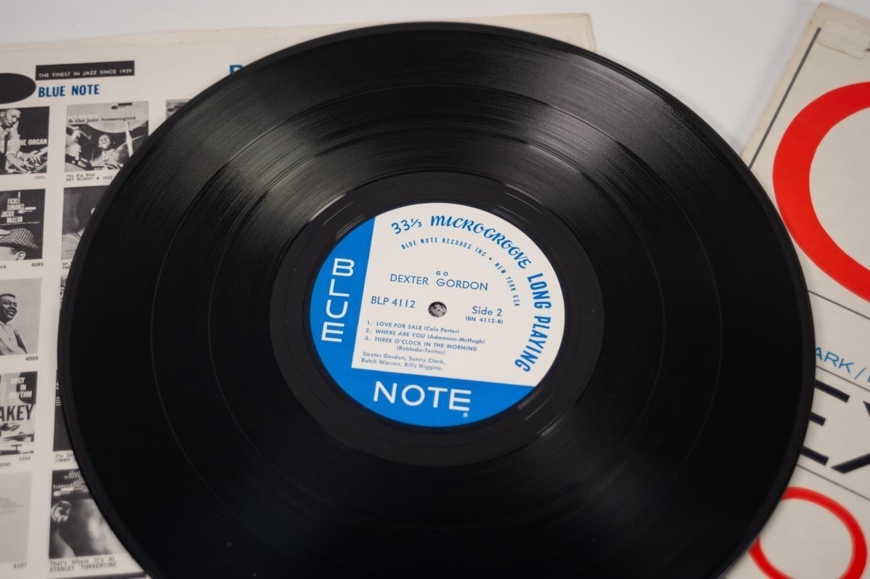 JAZZ, VINYL RECORDS-G IS FOR DEXTER GORDON- GO, with Sonny Clark, Butch Warren & Billy Higgins, BLUE - Image 3 of 4
