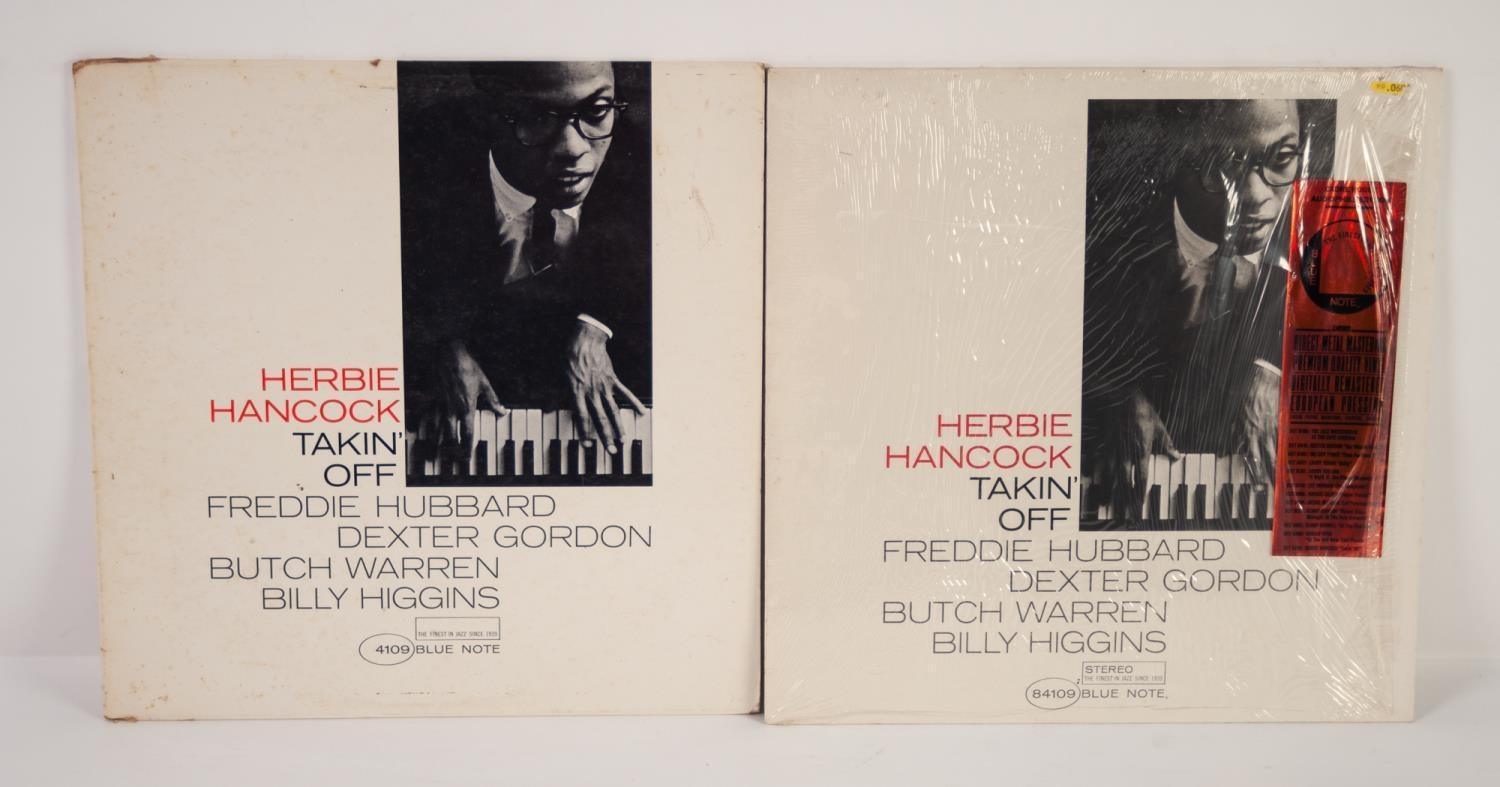 JAZZ, VINYL RECORDS-H IS FOR HERBIE HANCOCK-TAKIN OFF, Blue Note (BLP 4109). Original US, Mono Van