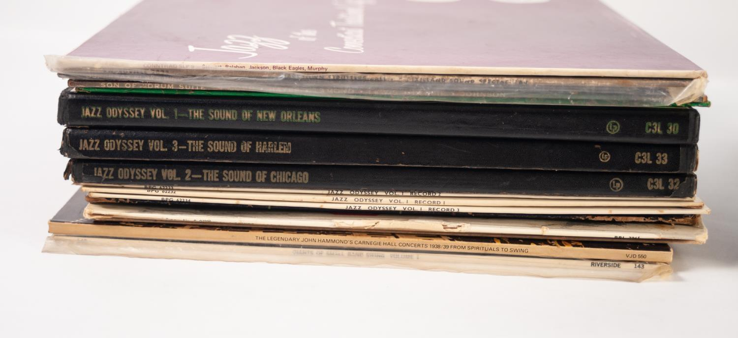 JAZZ, VINYL RECORDS- C IS COMPILATION- BEBOP INTO COOL, V Disc Jazz Session Series Dan Records (VC - Image 2 of 3