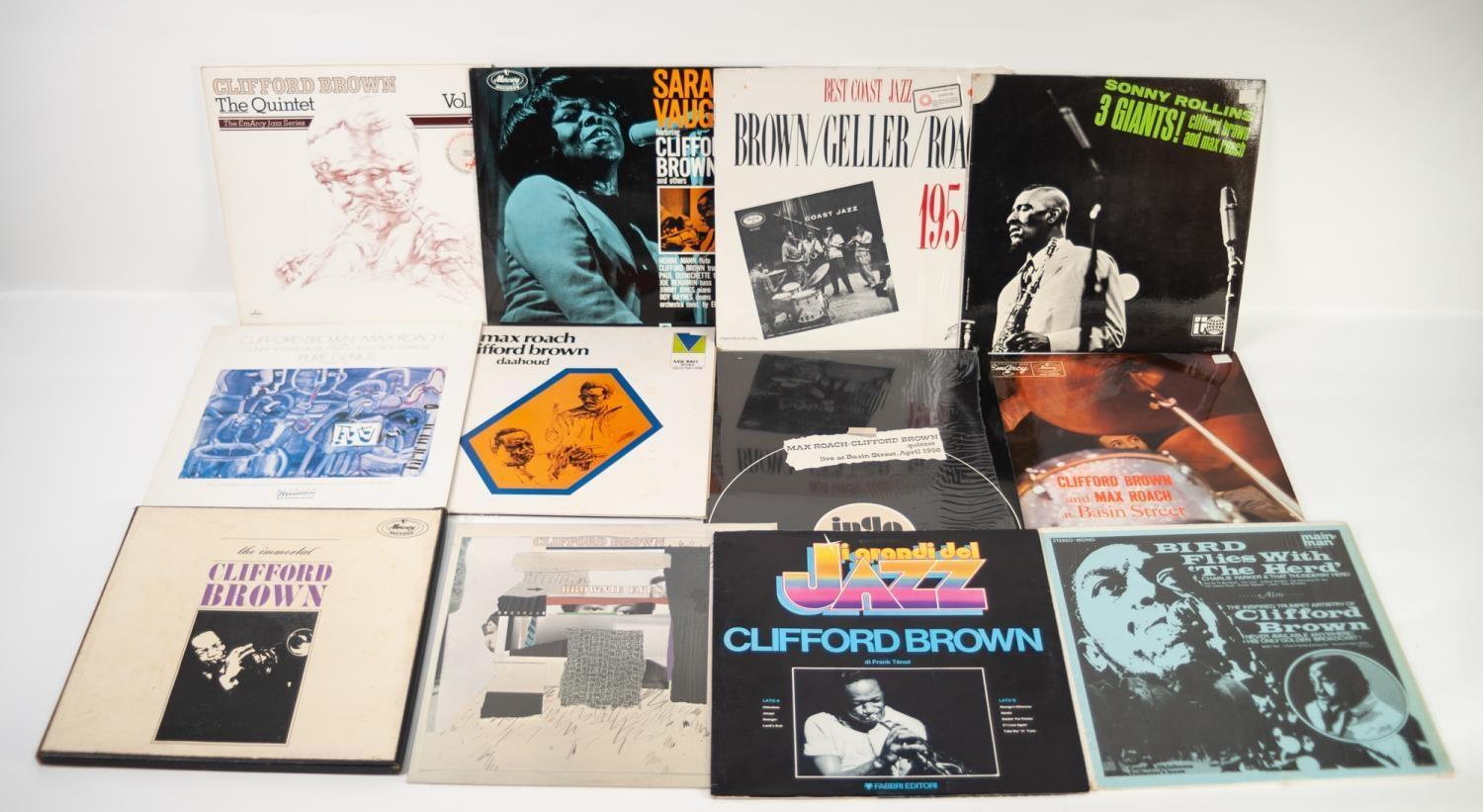 JAZZ, VINYL RECORDS- B IS FOR CLIFFORD BROWN & MAX ROACH-AT BASIN, EmArcy (MG 36070/EJL 1253),