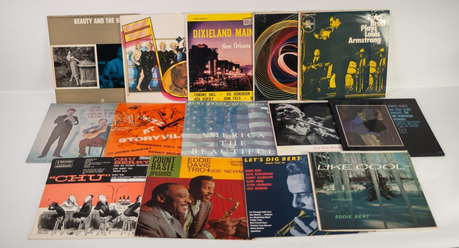 JAZZ, VINYL RECORDS- B IS FOR THE EMMETT BERRY SEXTET-BEAUTY AND THE BLUES, Columbia (33SX 1246).
