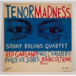 JAZZ, VINYL RECORDS-R IS FOR SONNY ROLLINS QUARTET- TENOR MADNESS with Red Garland, Paul Chambers,