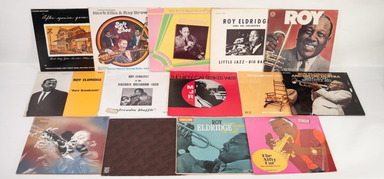 JAZZ, VINYL RECORDS- E IS FOR ROY ELDRIDGE- ?LITTLE JAZZ?, Verve (MG V 8389). The Gene Estes Band-