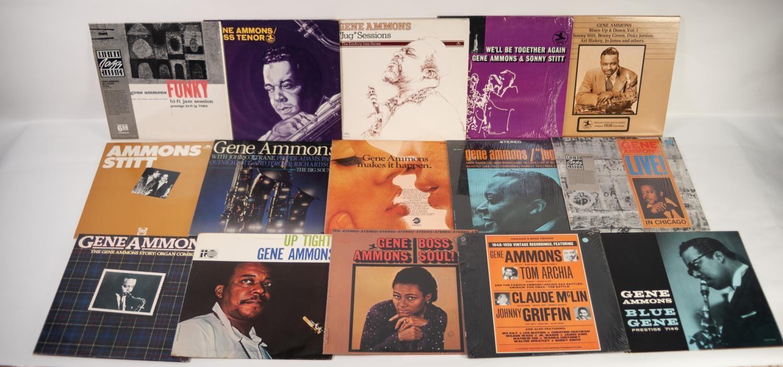 JAZZ, VINYL RECORDS- A IS FOR GENE AMMONS-UP TIGHT! Transatlantic (PR 7028), original 1966 UK