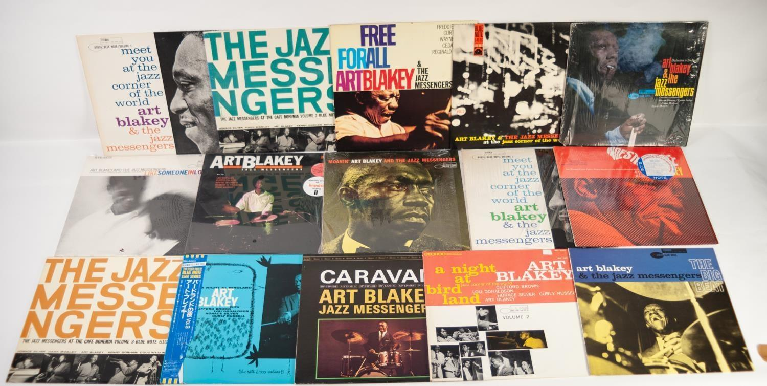 JAZZ, VINYL RECORDS, B IS FOR ART BLAKEY AND THE JAZZ MESSENGERS-A NIGHT AT BIRDLAND, Blue Note (BST