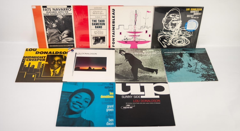 JAZZ, VINYL RECORDS- D IS FOR LOU DONALDSON-SUNNY SIDE, Blue Note (ST-84036). Lou Donaldson-The