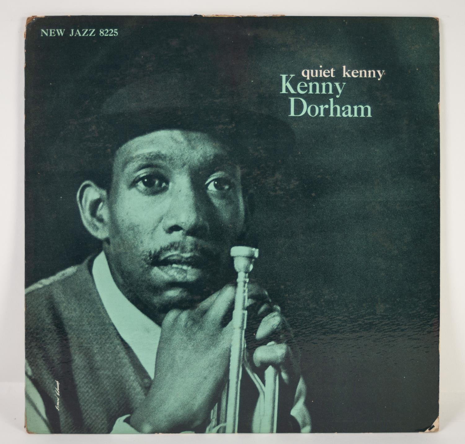 JAZZ, VINYL RECORDS- D IS FOR KENNY DORHAM-QUIET KENNY, NEW JAZZ (NJLP 8225). Original US pressing