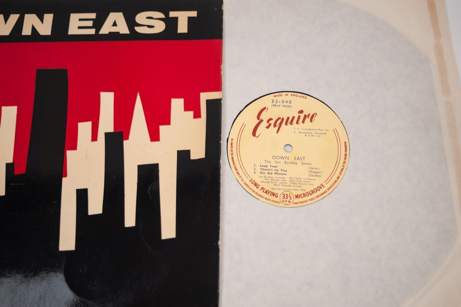 JAZZ, VINYL RECORDS- E IS FOR JON EARDLEY SEVEN-DOWN EAST, THE DOWNEST JAZZ WITH JON EARDLEY, ZOOT - Image 3 of 4