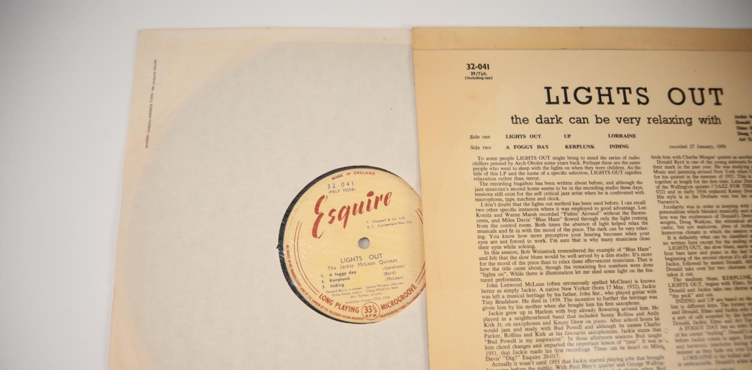 JAZZ, VINYL RECORDS- B IS FOR DONALD BYRD/JACKIE MCLEAN QUINTET-LIGHTS OUT, Esquire (32-041) UK - Image 6 of 6