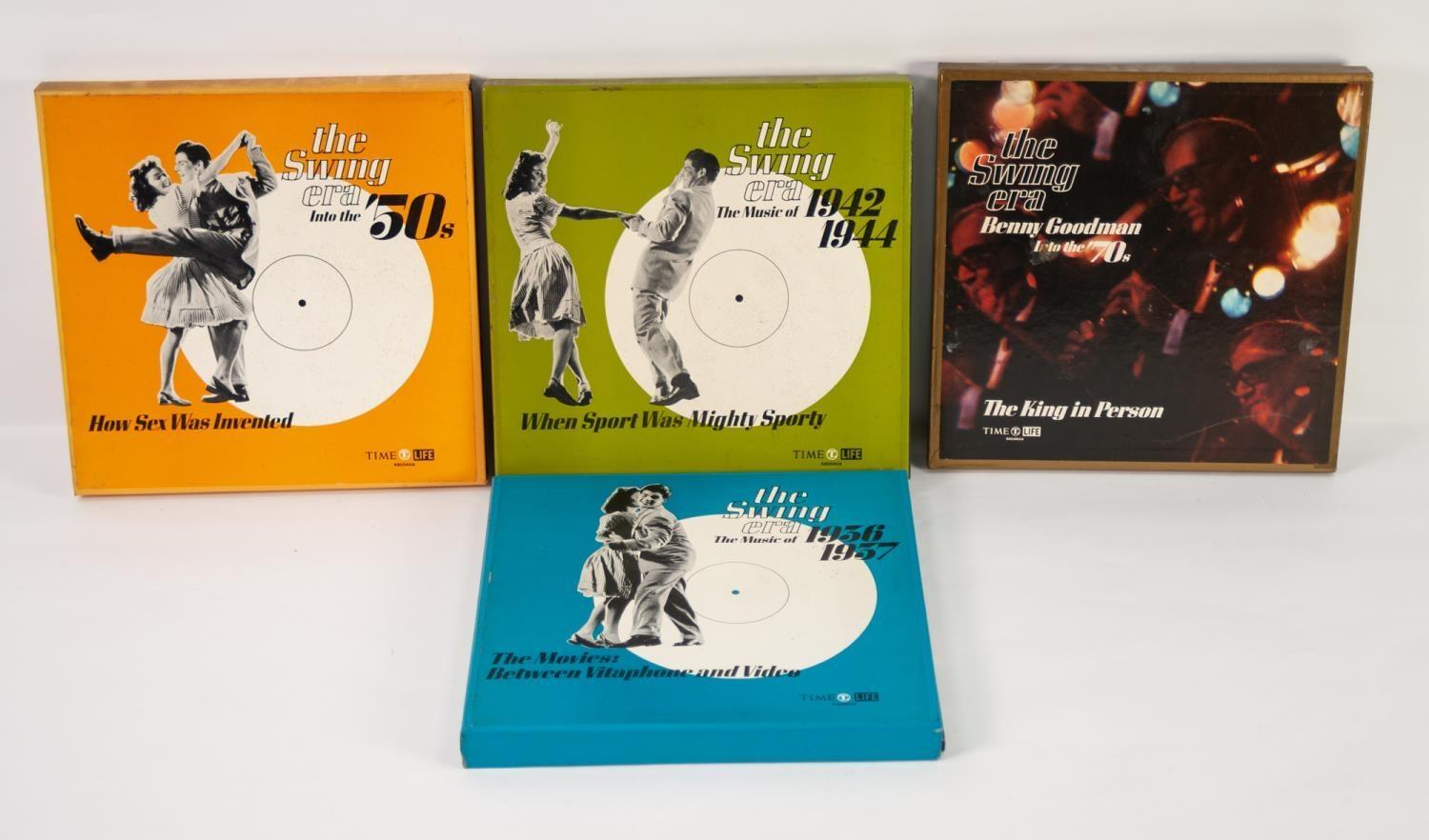 JAZZ, VINYL RECORDS- C IS COMPILATION- Various boxed sets from the SWING ERA series released by Time - Image 2 of 2