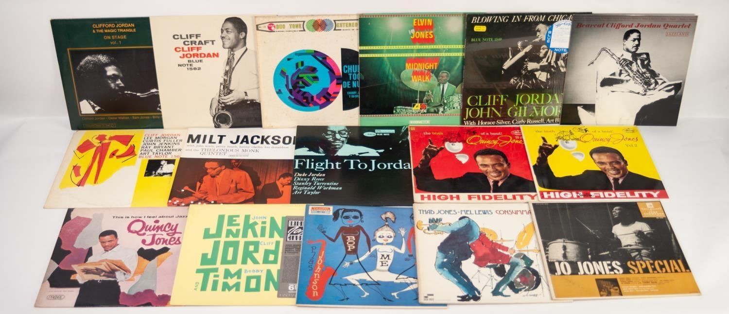 JAZZ, VINYL RECORDS-J IS FOR CLIFF JORDAN-Blue Note (BLP 1565) ?United Artists? label text. Clifford