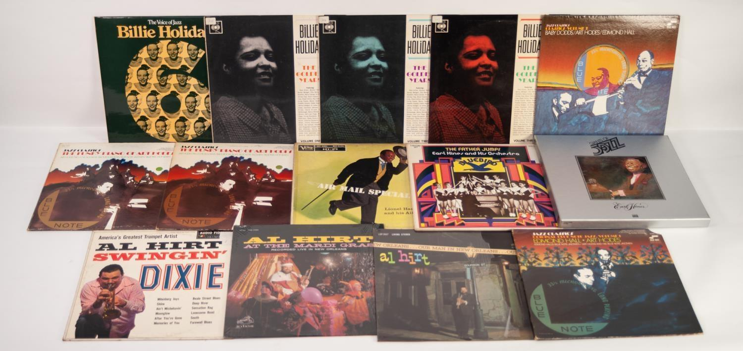 JAZZ, VINYL RECORDS-H IS FOR JOHNNY HODGES-LAWRENCE BROWN?S ALL STARS INSPIRED ABANDON, HMV (CLP