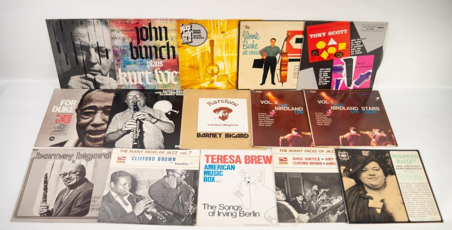JAZZ, VINYL RECORDS- B IS FOR SYDNEY BECHET-THE ATOMIC, Columbia (33SX 1084). BROOKMEYER, The Street - Image 3 of 4