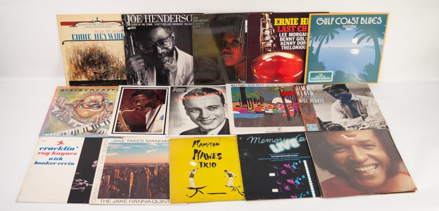 JAZZ, VINYL RECORDS-H IS FOR JOHNNY HODGES-PERDIDO, Verve (MGV 8179). Coleman Hawkins Roy