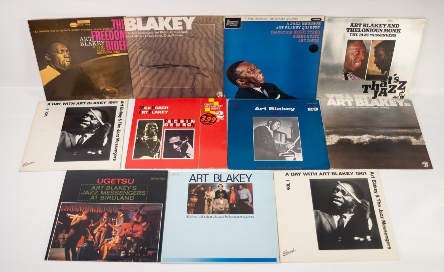 JAZZ, VINYL RECORDS, B IS FOR ART BLAKEY AND THE JAZZ MESSENGERS-THE FREEDOM RIDER, Blue Note (BLP