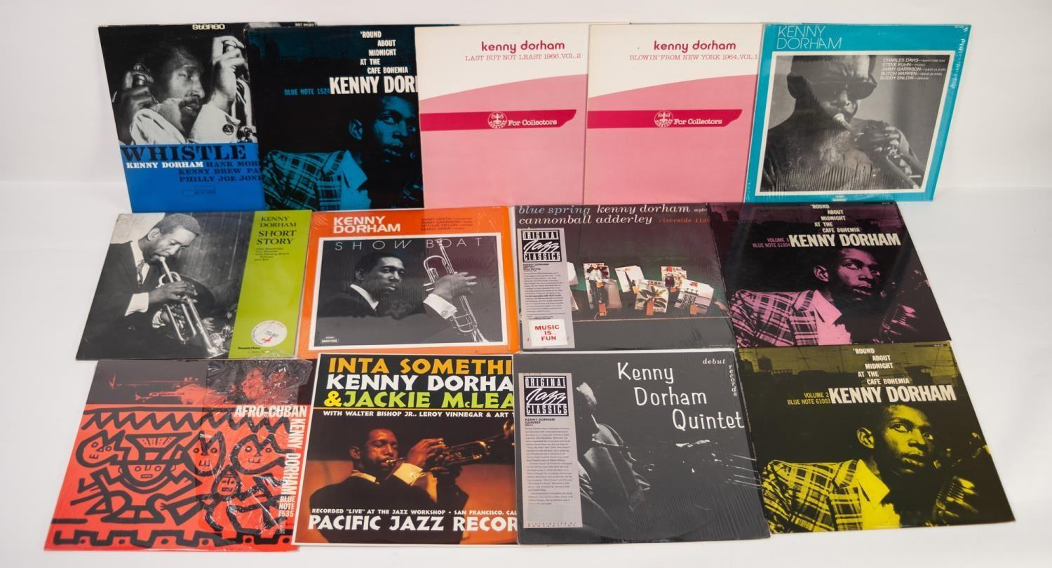 JAZZ, VINYL RECORDS- D IS FOR KENNY DORHAM-ROUND ABOUT MIDNIGHT AT THE CAFÉ BOHEMIA, Blue Note (