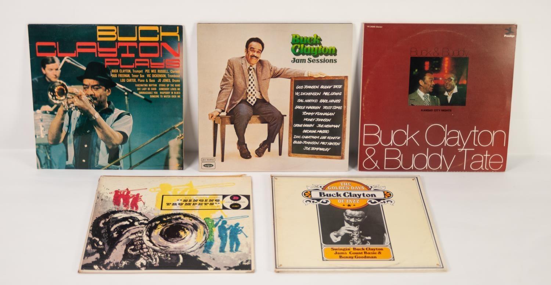 JAZZ, VINYL RECORDS- C IS FOR BUCK CLAYTON-GOING TO KANSAS CITY, Riverside (RLP 353), original UK
