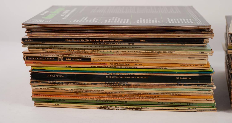 JAZZ, VINYL RECORDS- E IS FOR DUKE ELLINGTON-SEATTLE CONCERT 1952, RCA (430206 S), French Import. - Image 2 of 3