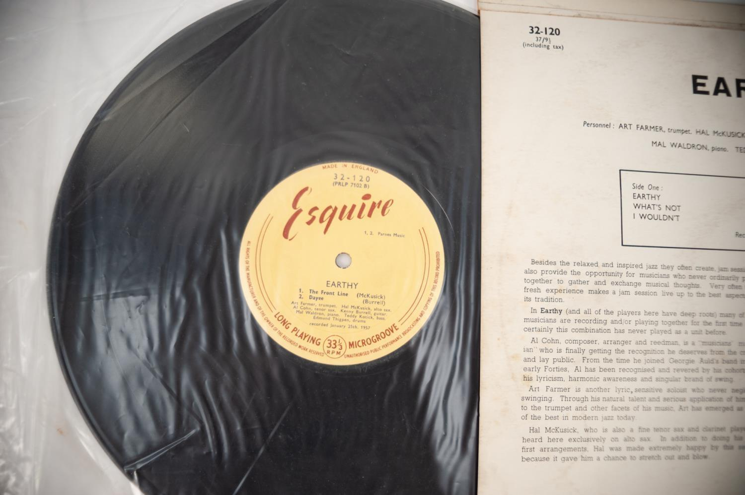 JAZZ, VINYL RECORDS- B IS FOR KENNY BURRELL-EARTHY (Prestige All Stars), Esquire (32-120). - Image 4 of 4