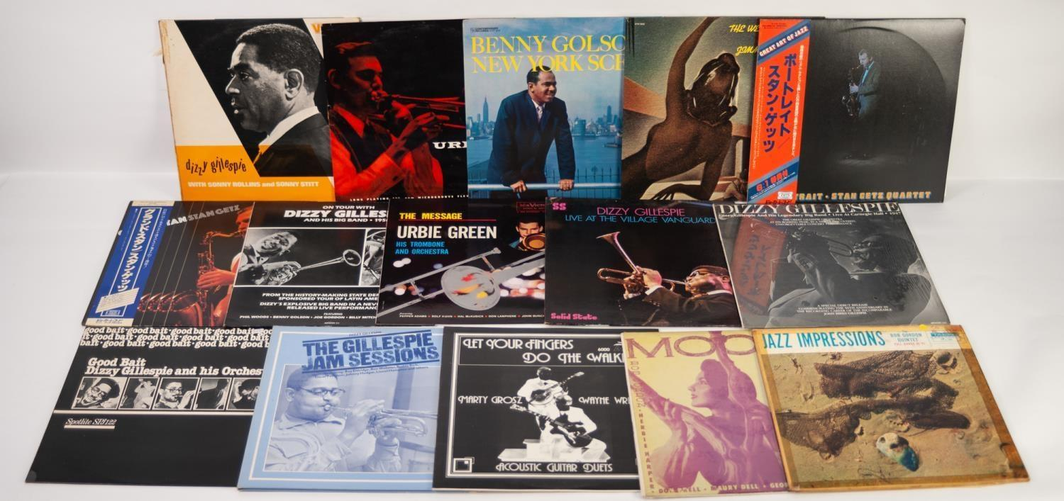 JAZZ, VINYL RECORDS-G IS FOR DIZZY GILLESPIE-WITH SONNY ROLLINS AND SONNY STITT, VSP (145/16).