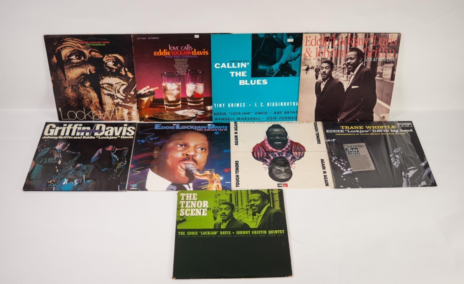 JAZZ, VINYL RECORDS- D IS FOR EDDIE ?LOCKJAW? DAVIS & JOHNNY GRIFFIN-The First Set/Recorded live - Image 2 of 2