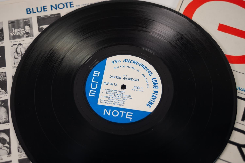 JAZZ, VINYL RECORDS-G IS FOR DEXTER GORDON- GO, with Sonny Clark, Butch Warren & Billy Higgins, BLUE - Image 4 of 4