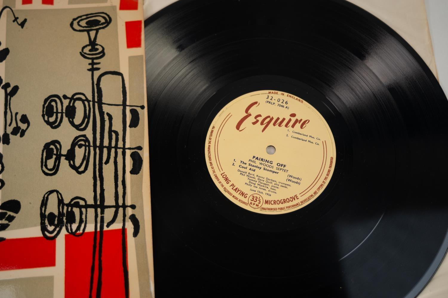 JAZZ, VINYL RECORDS- B IS FOR DONALD BYRD/JACKIE MCLEAN QUINTET-LIGHTS OUT, Esquire (32-041) UK - Image 3 of 6