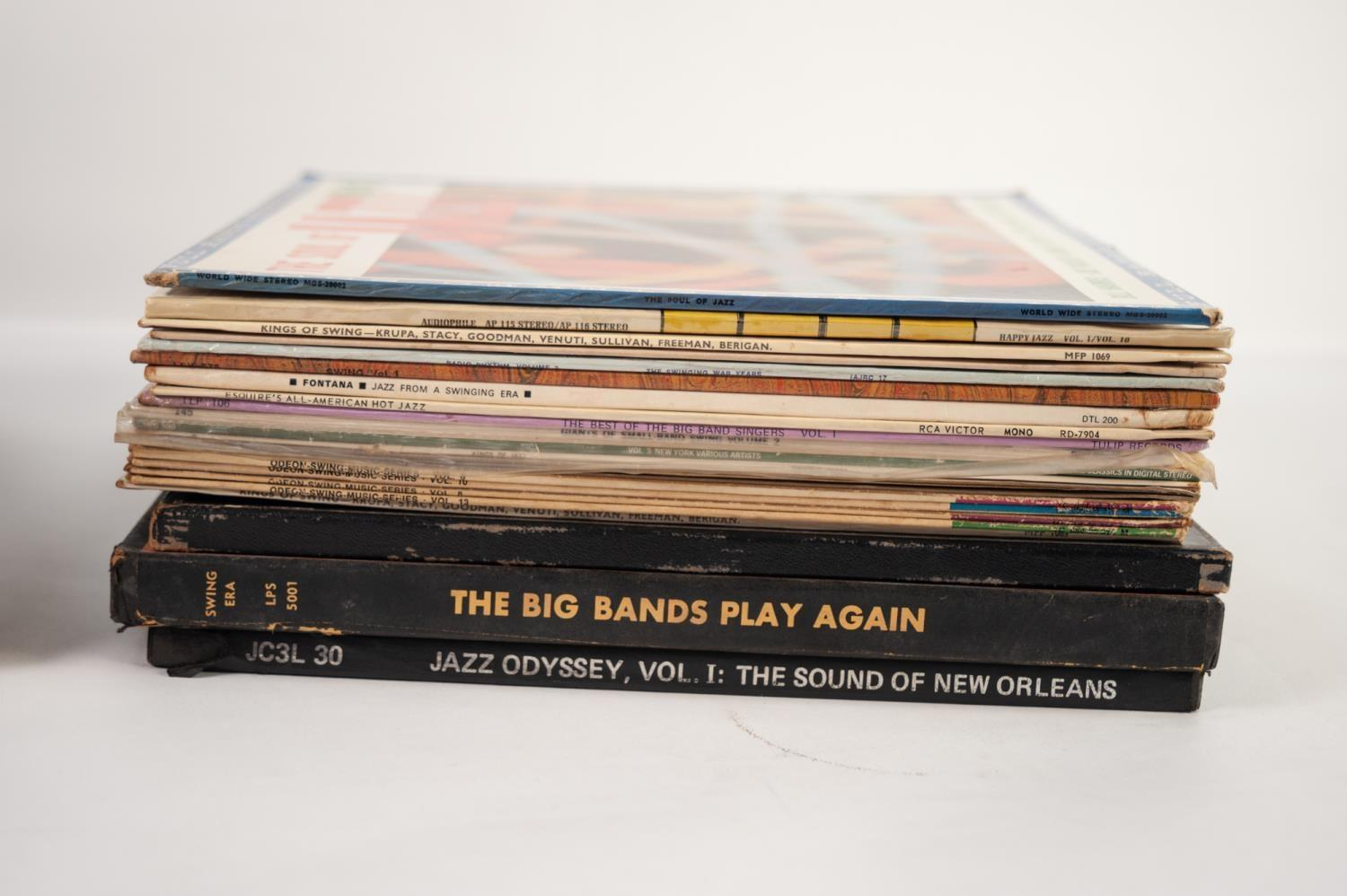 JAZZ, VINYL RECORDS- C IS COMPILATION- BEBOP INTO COOL, V Disc Jazz Session Series Dan Records (VC - Image 3 of 3
