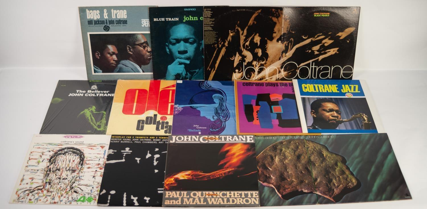 JAZZ, VINYL RECORDS- C IS FOR JOHN COLTRANE-BLUE TRAIN, Blue Note, (BST 81577), Stereo ?Division