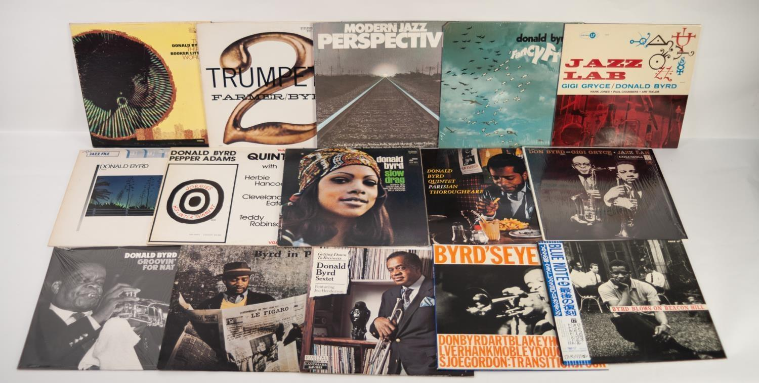 JAZZ, VINYL RECORDS- B IS FOR DONALD BYRD-BYRD BLOWS ON BEACON HILL, Aurex (TRLP 17), Japanese