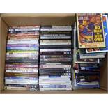 OVER 200 DVDs AND CDs, MAINLY CLASSIC FILMS including Betty Grable films (circa 50% of DVDs are