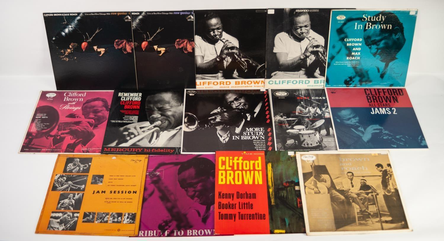 JAZZ, VINYL RECORDS, B IS FOR CLIFFORD BROWN-WITH STRINGS, Mercury/EmArcy (MG 36005). CLIFFORD