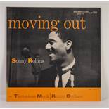 JAZZ, VINYL RECORDS-R IS FOR SONNY ROLLINS WITH THELONIUS MONK AND KENNY DORHAM- Moving Out,