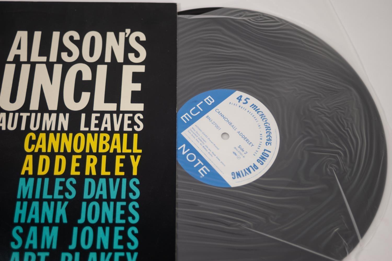 JAZZ, VINYL RECORDS- D IS FOR MILES DAVIS- CANNONBALL ADDERLEY & MILES DAVIS-Somethin Else, Blue - Image 3 of 4