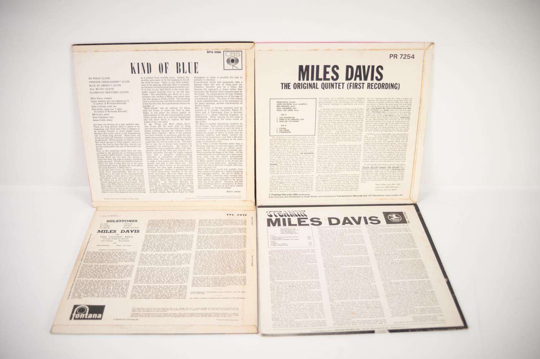 JAZZ, VINYL RECORDS- D IS FOR MILES DAVIS- KIND OF BLUE, CBS (BPG 62066). UK pressing, orange labels - Image 2 of 2
