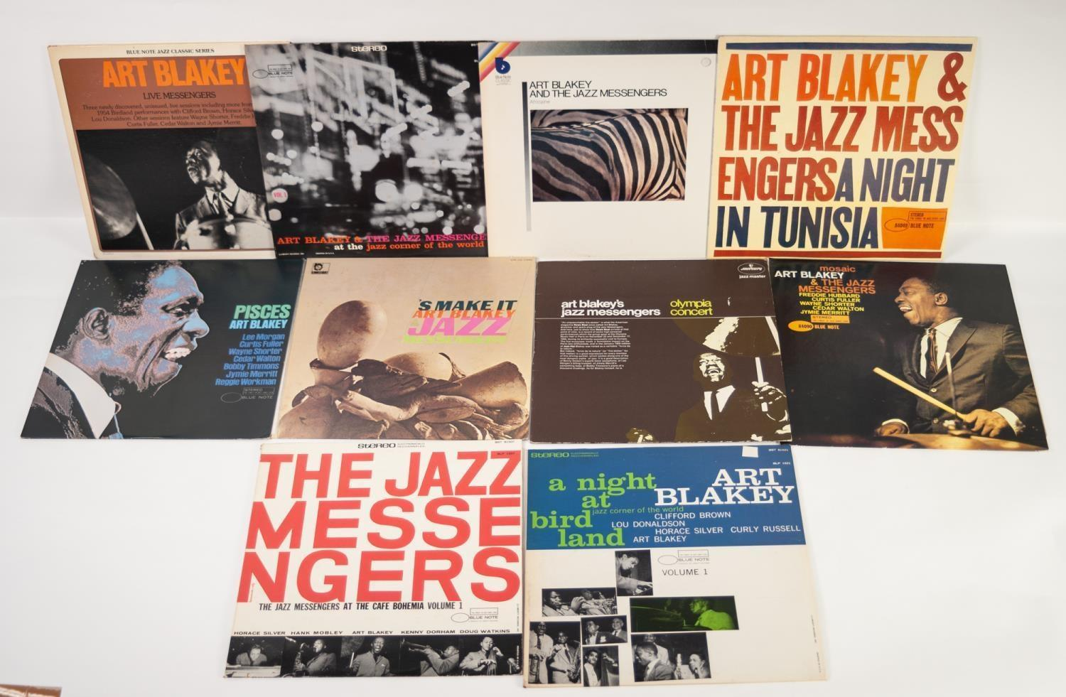 JAZZ, VINYL RECORDS, B IS FOR ART BLAKEY AND THE JAZZ MESSENGERS-THE FREEDOM RIDER, Blue Note (BLP - Image 2 of 2