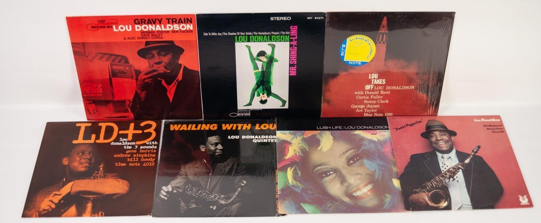 JAZZ, VINYL RECORDS- D IS FOR LOU DONALDSON-GRAVY TRAIN, Blue Note (BST 84079). LOU DONALDSON-MR