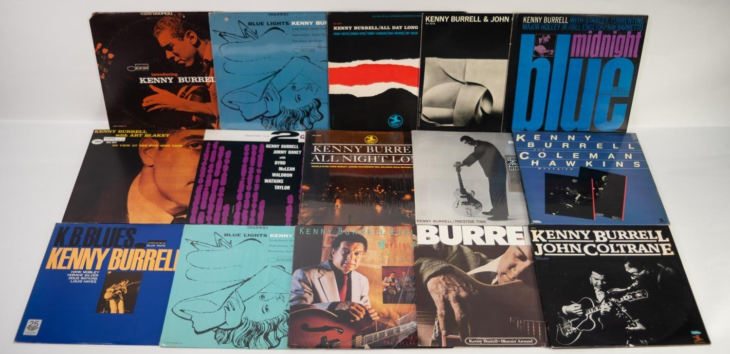 JAZZ, VINYL RECORDS- B IS FOR KENNY BURRELL-ALL DAY LONG, Prestige (7277). KENNY BURRELL AND JOHN