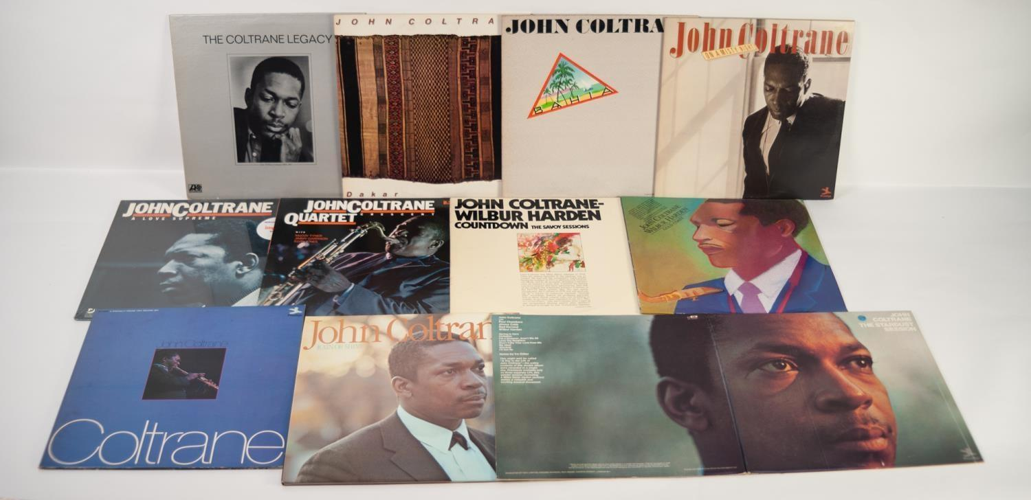 JAZZ, VINYL RECORDS- C IS FOR JOHN COLTRANE-BLUE TRAIN, Blue Note, (BST 81577), Stereo ?Division - Image 2 of 2